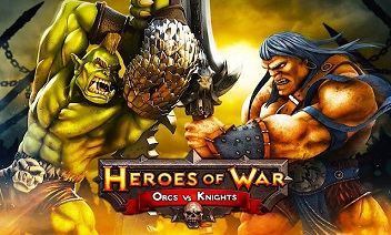 Heroes of War: Orcs vs Rycerze