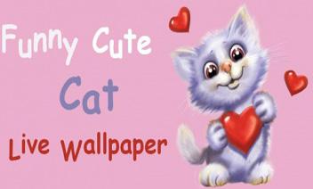 ตลกน่ารักแมววอลล์เปเปอร์