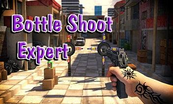 expert Bouteille shoot jeu 3D