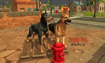 هزلي الكلب العالم