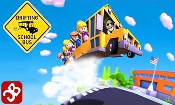 Drifting školski autobus