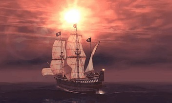 3D Pirate Ship LWP