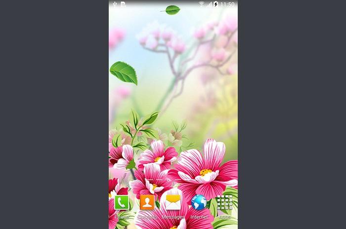 Flores por fondos de pantalla en vivo