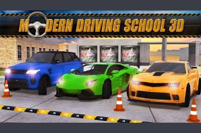 المدرسة الحديثة لتعليم قيادة السيارات 3D