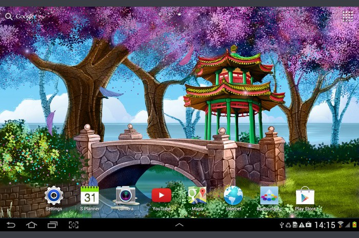 Magic Garden Live Wallpaper