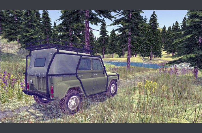 4x4 terepjárók orosz Off-Road 2