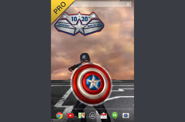 Captain America: TWS żywo WP