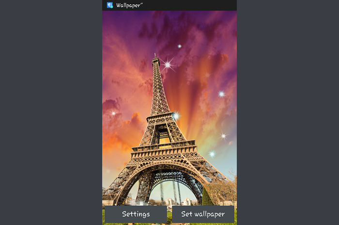 Sunny Paris Live Wallpaper