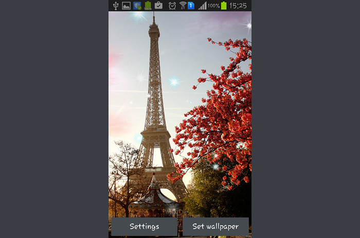 Soleado Paris Live Wallpaper