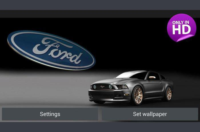 3D FORD Logo Live Wallpaper