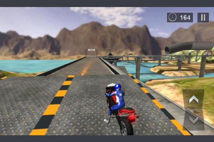 จักรยานมาก stunts 3D
