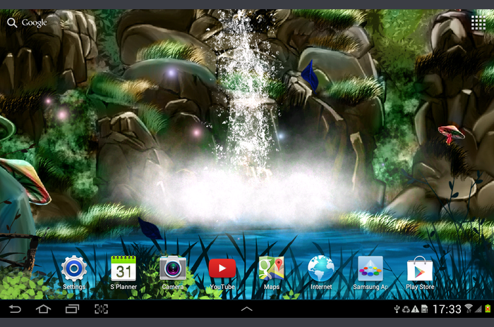 3D Waterfall Live Wallpaper FR