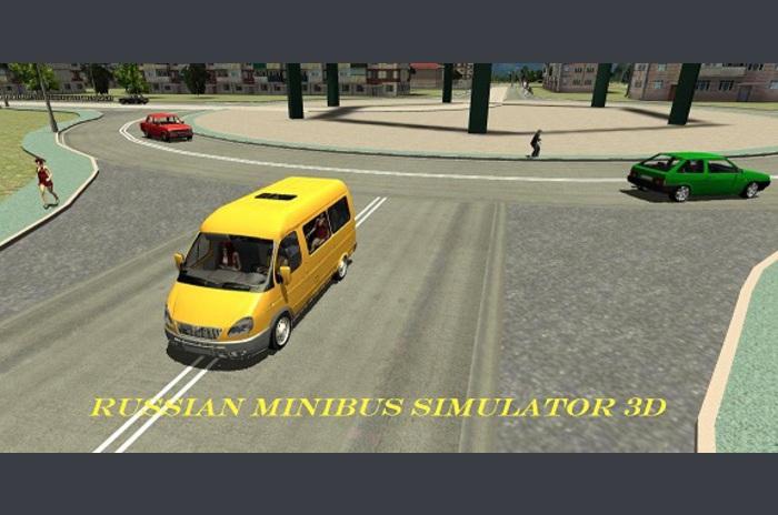 Ryska minibuss Simulator 3D