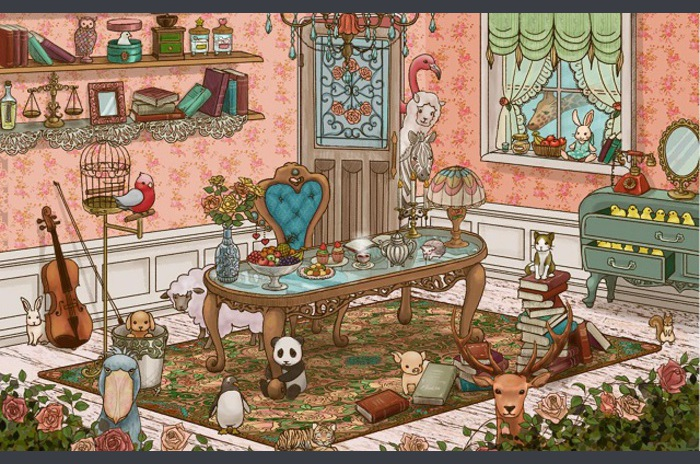 Antique room LW [FL ver.]