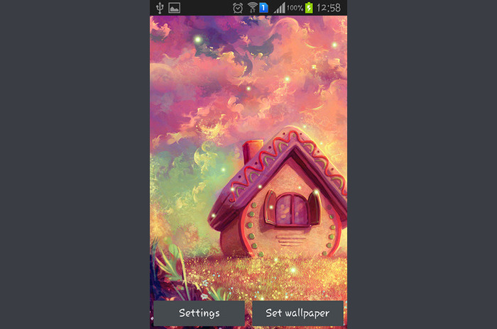 Sweet Home Live wallpaper