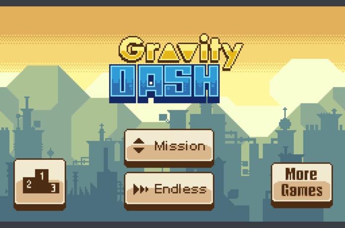 Yerçekimi Dash - Pixel Runner