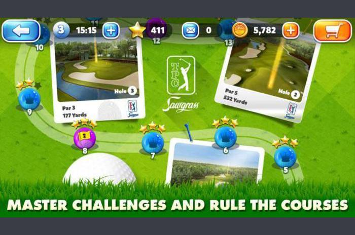 Roi du terrain de golf