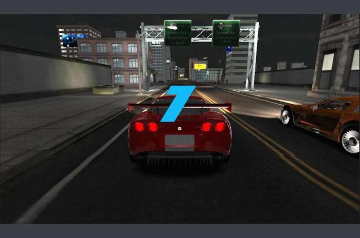Underground Racer: Noc Racing