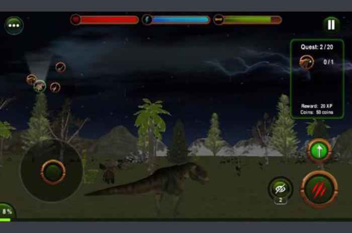 Dinozaur răzbunare 3D