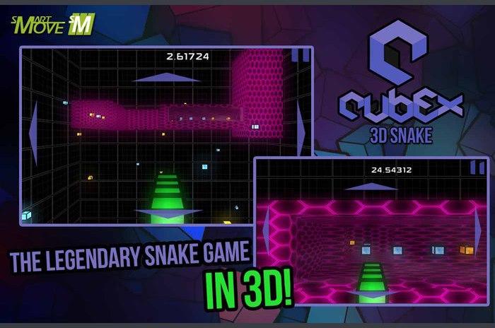 Cubex 3d Snake Arcade 2014