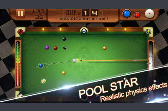 Pool csillagos