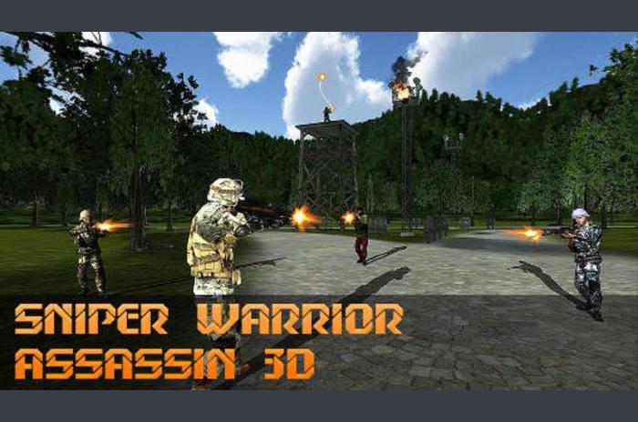 Sniper harcos Assassin 3D