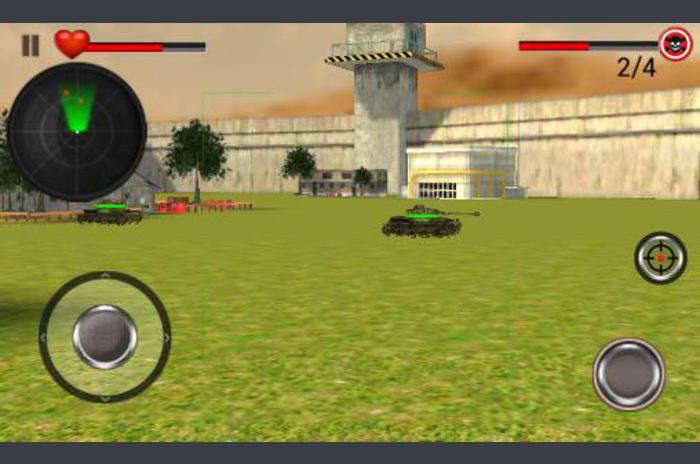 Mundial tanque de guerra de la batalla en 3D