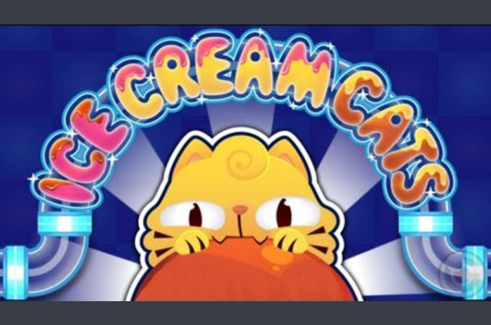 Ice Cream Cats - Pipes Puzzle