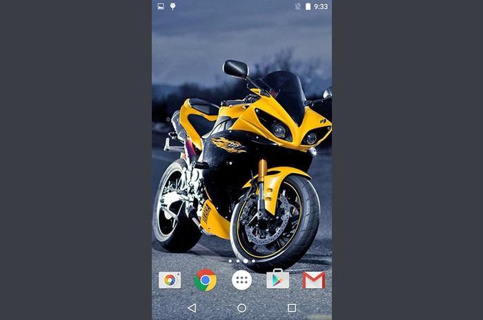 Motorcyklar livewallpaper