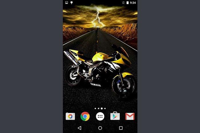 Moto livewallpaper