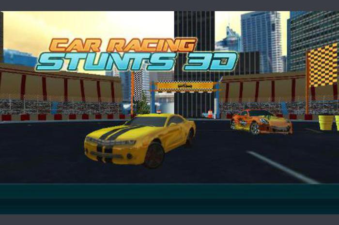 Autóverseny mutatványokat 3D