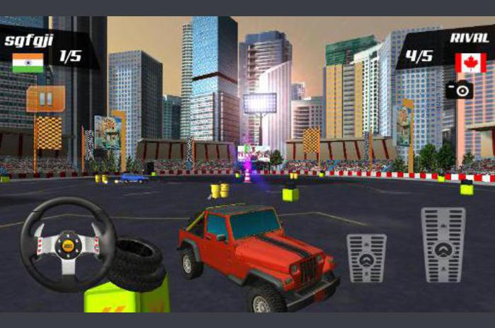 Bilspel stunts 3D