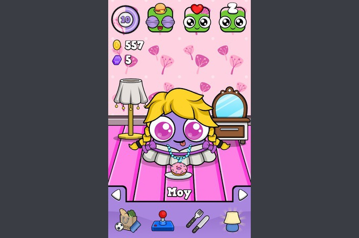 Moy 4 - Virtual Pet Game