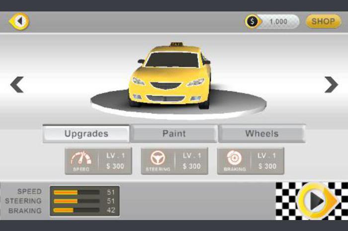 الحديث 3D سائق سيارة أجرة