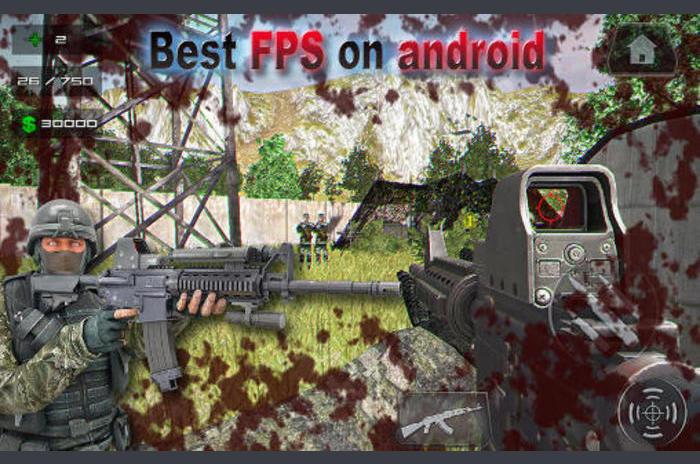 Combat Duty: Modern sztrájk FPS
