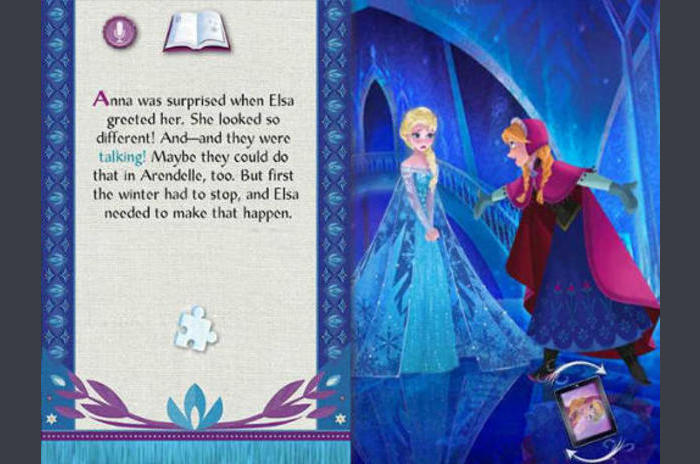Disney.  Frozen: Storybook Deluxe