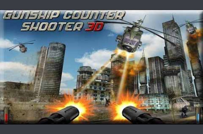 Gunship contre Shooter 3D