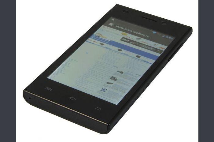 Áttekintés Smartphone HighScreen Zera F