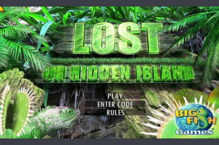 Lost om Hidden Island