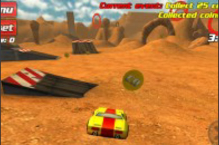 Disque crash 3D