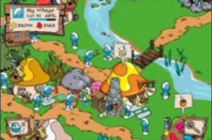 Schtroumpfs Village