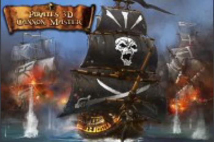 Kalózok 3D Cannon Mester