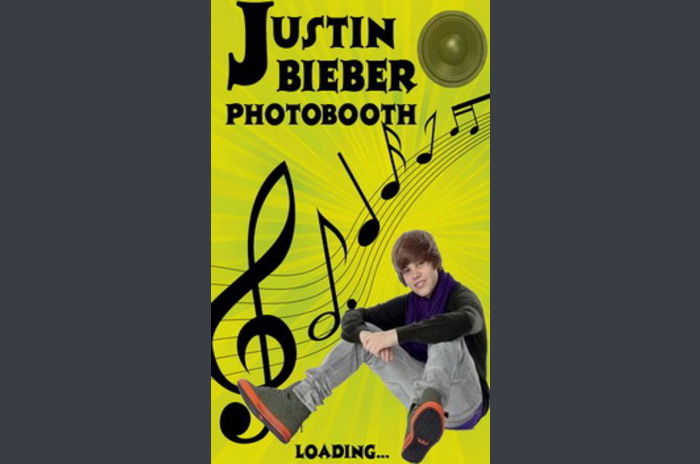 Justin Bieber Photobooth