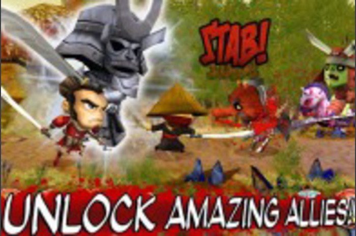 Samurai vs Zombies defence