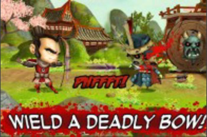 Samurai vs Zombies savunma