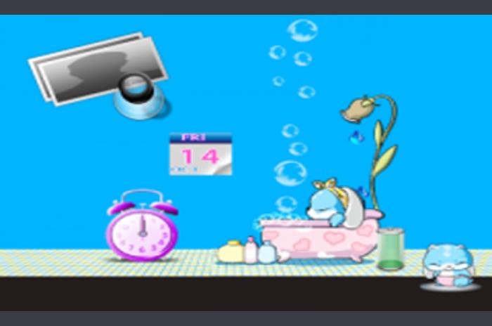 Fond d'écran L'heure du bain