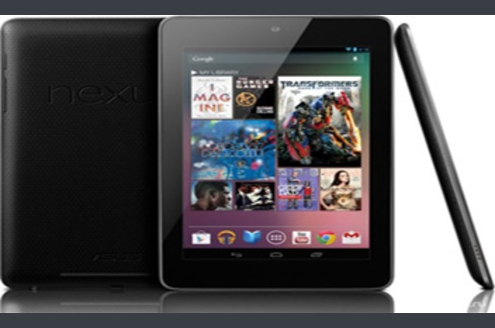 Google has released a new tablet Android Nexus 7