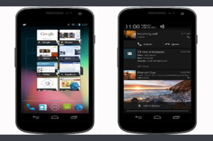 Google announced a new version of Android 4.1 Jelly Bean