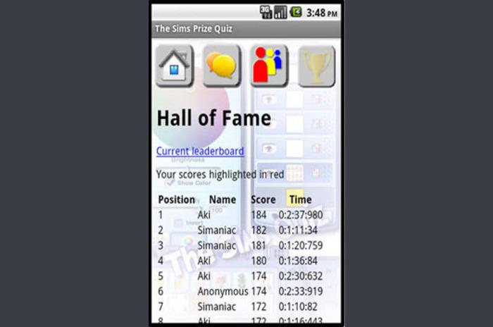 Los Sims Premio Concurso
