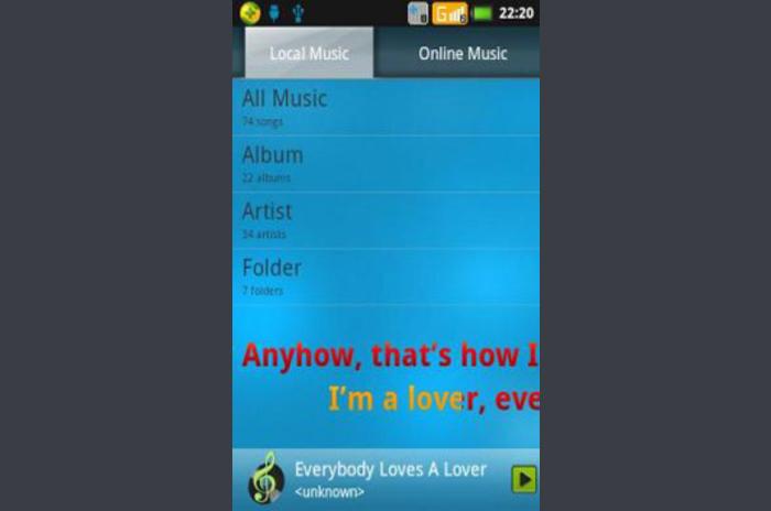 Qxting reproductor de música